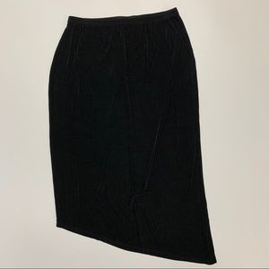 Chico's Travelers size 3 size XL black skirt